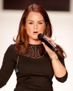 Joanna JoJo Levesque - Front Row fashion show in New York 09/11/12