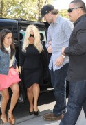 Jessica Simpson - On her way to the Katie show 9-10-2012