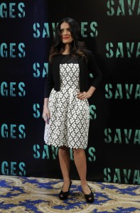 Salma Hayek @ Savages photocall, Paris, 14.09.12 - 3HQ