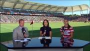 Alex Morgan USA vs AUS 9/16; post-match interview, goal score