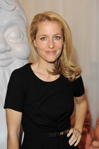 Gillian Anderson,  Mulberry Spring/Summer 2013 Show, London Fashion Week.