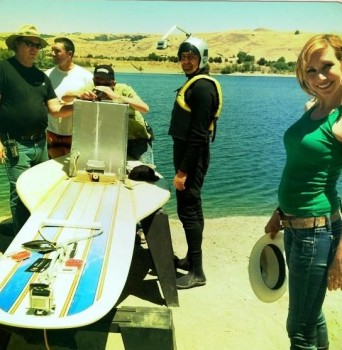 Kari Byron - On Set Twitpic - 1MQ - 30/9/12