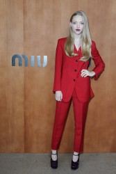 Amanda Seyfried @ Miu Miu Spring/Summer 2012 Show, Paris Fashion Week October 3, 2012 HQ x 9 **ADDS**
