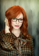 Christina Hendricks - photoshoot at The Darling hotel in Sydney 10/03/12
