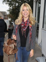 Holly Willoughby at the Riverside Studios in London 10th October x12