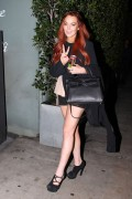 Lindsay Lohan leaving Giorgio Baldi restaurant in Santa Monica 10/12/12