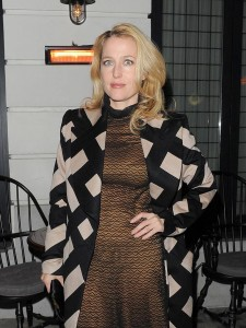 Gillian Anderson, Chopard dinner at the Little House in London, 16/10/2012