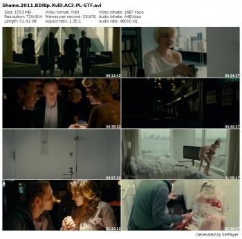 Wstyd / Shame (2011) BDRip.XviD.AC3.PL-STF / Lektor PL + rmvb + x264