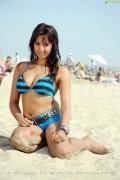 Spicy Sanjana Pics on the Beach
