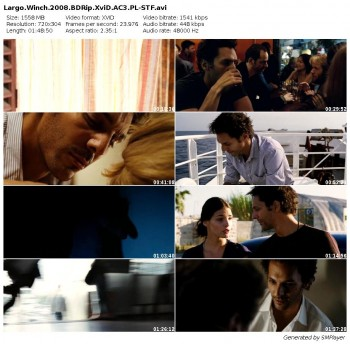 Largo Winch (2008) BDRip.XviD.AC3.PL-STF / Lektor PL