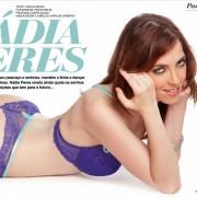 Gatas QB - Nádia Peres Hot Magazine Novembro 2012