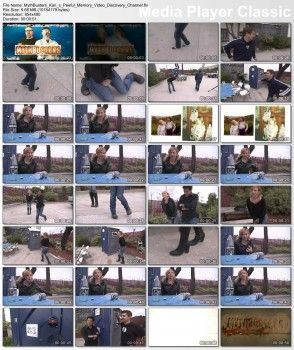 Kari Byron - Sneak Peak of Mini Myth Medley - x2 clips RS - 48.3/9.6mb