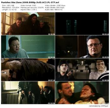 Punisher: Strefa wojny / Punisher: War Zone (2008) BRRip.XviD.AC3.PL-STF / Lektor PL + x264