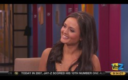 Carrie Keagan and Danica McKellar, VH1 Morning Buzz 11-16