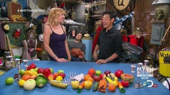 Kari Byron - Tastes Like Chicken - Mythbusters S11e07 - HD caps - 19/11/12
