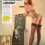 Gatas QB - The Big Boob Issue | Kelly Hall | Nuts Magazine | 23 Novembro 2012