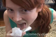 "Ellie Kemper ""Blowjob girl"" sketch"
