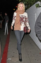 Jaime King - leaving the Chateau Marmont in West Hollywood 1/6/13