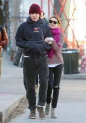 Emma Roberts - out and about in NYC 1/7/13