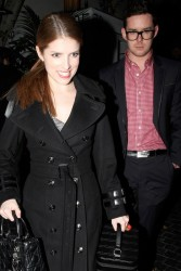 Anna Kendrick - leaving the Chateau Marmont in West Hollywood 1/9/13