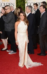 Lea Michele - 70th Annual Golden Globe Awards in Beverly Hills 1/13/13