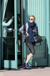 Dakota Fanning - at the gym in LA 1/15/13