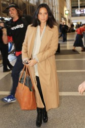 Olivia Munn - at LAX Airport 1/19/13