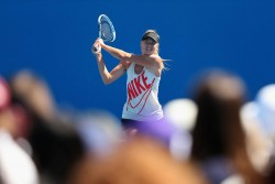 Maria Sharapova - at a practice session in Melbourne 1/23/13