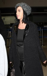 Katy Perry - at LAX Airport 1/22/13