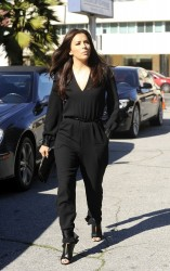 Eva Longoria - out and about in Beverly Hills 1/26/13