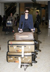 Gemma Arterton - at Sydney Airport 1/27/13