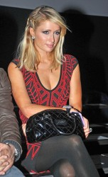 Paris Hilton - Mango Autumn/Winter 2013-14 show at Barcelona Fashion Week - 1/28/13