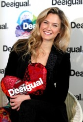 Bar Refaeli - Desigual photocall at Barcelona Fashion Week 1/30/13