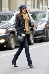 Victoria Justice - out and about in NYC 2/7/13