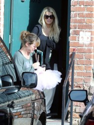 Jessica Simpson - out and about in LA 2/8/13