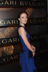 Olivia Wilde - Bvlgari Celebrates Icons Of Style: The Serpenti in NYC 2/9/13