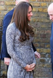 Catherine, Duchess of Cambridge - arrives at Hope House in London 2/19/13