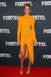 Jennifer Hawkins - 2013 Foxtel Launch at Fox Studios in Sydney 2/20/13