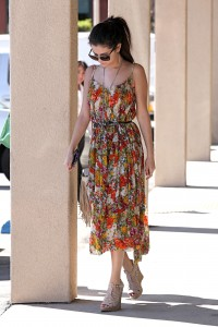 Selena gomez out and about candids in los angeles for Abbey brooks salon
