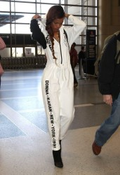 Rihanna - At LAX Airport 3/3/13