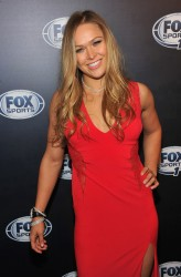 Ronda Rousey - 2013 FOX Sports Media Group Upfront after party in NYC 3/5/13