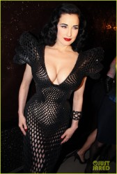Dita Von Teese - 'Dukes of Melsrose' premiere in NYC 3/5/13
