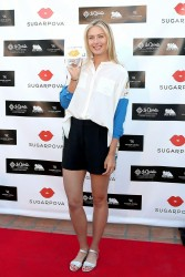Maria Sharapova - Sugarpova Event in La Quinta 3/6/13
