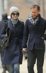 Anne Hathaway - out and about in NY 3/7/13