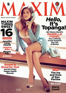 DANIELLE FISHEL - MAXIM MAGAZINE - APRIL 2013