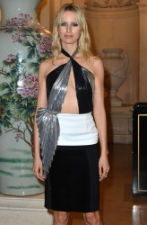 Karolina Kurkova - Carine Roitfeld cocktail party in Paris 3/5/13
