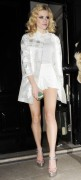 Pixie Lott - leggy leaving a nightclub in London 3/9/13