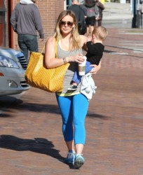 Hilary Duff - out in Beverly Hills 3/12/13