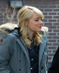 Emma Stone - heading to the set of 'The Amazing Spider-Man 2' in NY 3/13/13