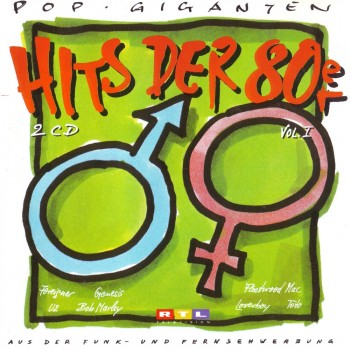 pop pop giganten hits der 80er vol 1 2cd 1993. Black Bedroom Furniture Sets. Home Design Ideas